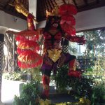 Statue in preparation for Nyepi Day