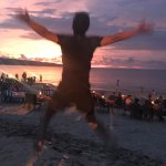 Jimbaran sun set