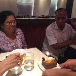 Surprise cake...Thank you Manu :)