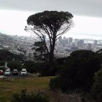 on way to Table Mountain Cable Car