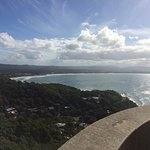 Byron bay from the top of lighthouse