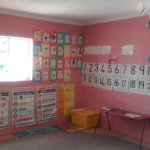 visiting pre-school as part of the township tour