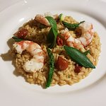 Risotto Carnaroli di Sibari ai crostacei e verdure croccanti