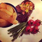 Steak & Chips... Yummy!