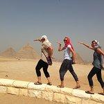 Walking like Egyptians
