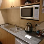 View of the kitchenette facilities