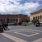 Nearby central Yerevan