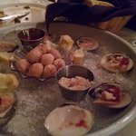 Raw clams - fresh and cleaned properly