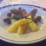 Petto d'anatra con mele (cena di Pasqua)