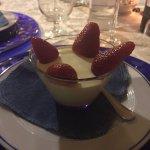 Bavarese con fragole (cena di Pasqua)