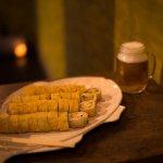 Hot rolls de  Phila, Ny, Cocido y Veggie