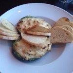 Crab Dip baked in Avocado Halves