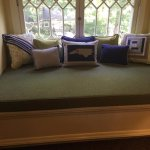 Reading Nook in Blue Spruce