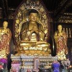 Lavishly decorated shrines