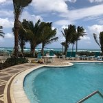 Our brand new oceanfront pool!