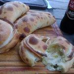 Empanadas de pollo y puerro