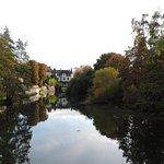 Vue sur le Moulin de Connelles, depuis le Manoir des Deux Amants