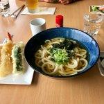 Udon noodle soup & tempura