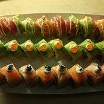 oishii sushi 👏😀