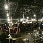 Inside Free Arcade, Beer & Bites Play in Richardson, TX