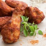 Dry Rubbed Wings