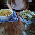 Accompagnements légumes/nouilles