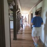 Self guided tour of 7 bedrooms on the second floor