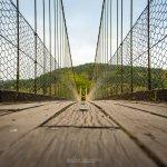 Sappers suspension bridge