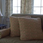 We love the 3-season porch in the Madison Getaway guest room