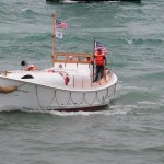 36' motor lifeboat 36460 available for short excursions.