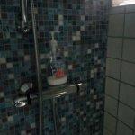 el jabón que nos pusieron para la ducha
