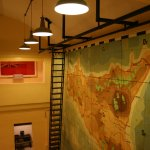 Lascaris War Rooms. One of the big maps.