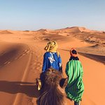 Venturing out into the Sahara
