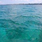 While going scuba