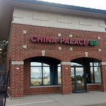 front of & entrance to China Palace 88