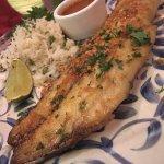 fish w/ garlic!