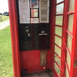 The old A B public phone