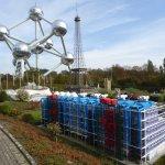 Museo Beaubourg, Torre Eiffel y el Atomium