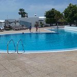 Upper pool suitable for children