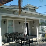 Exterior of the Tice House Cafe in Buena Park, CA