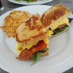 Breakfast BLT sandwich at the Tice House Cafe in Buena Park, CA