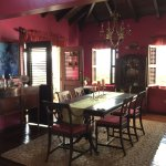 Traditional Caribbean Dining Room at Rock Haven