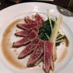 Peppered Tuna appetizer