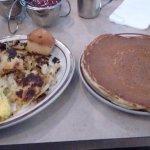 Denver Omelette, Buttermilk Pancake