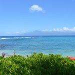 view from walkway at Kapalua Bay