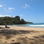 This is the beautiful hidden Kalihiwai Beach
