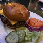 The basic burger - OK but not spectacular