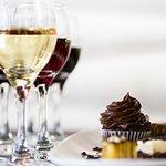 Even evening beginning at 4:30, it's plenty of sweet treats and California wine tasting.