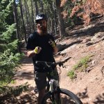 Mountain biking tour guide