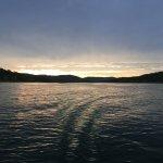 Sunset at Table Rock lake